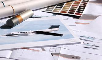 Peinture fuselage avion