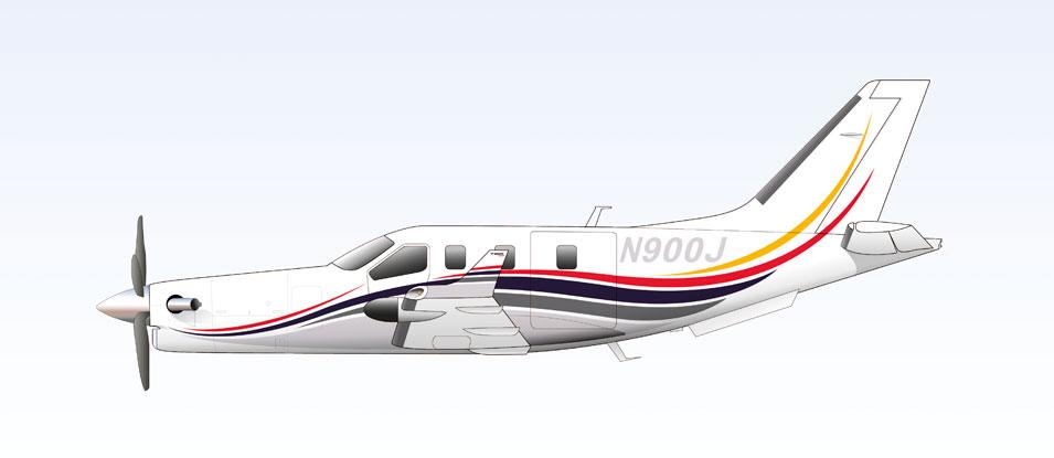 28-Daher-Socata-TBM900-paint-scheme-livery